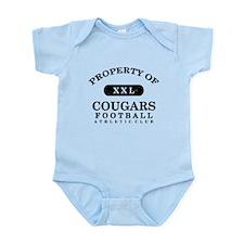 Property of Cougars Infant Bodysuit
