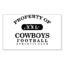 Property of Cowboys Decal