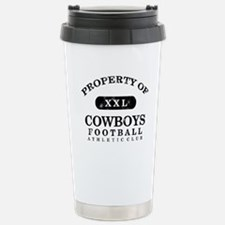 Property of Cowboys Stainless Steel Travel Mug