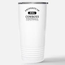 Property of Cowboys Travel Mug
