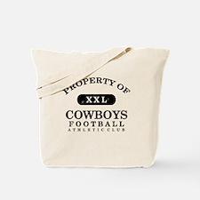 Property of Cowboys Tote Bag