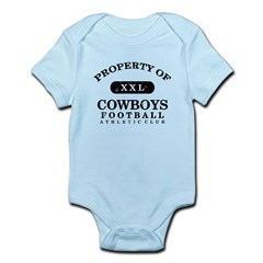 Property of Cowboys Infant Bodysuit