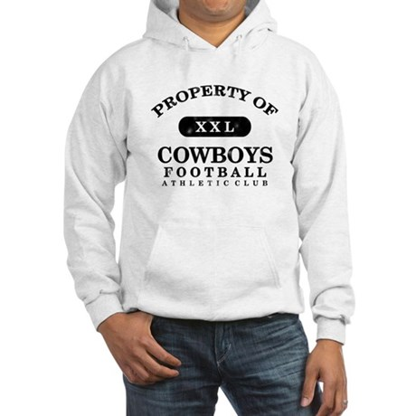 Property of Cowboys Hooded Sweatshirt