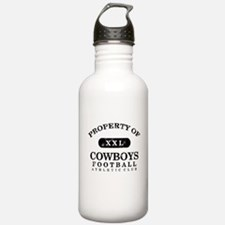 Property of Cowboys Water Bottle