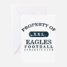 Property of Eagles Greeting Card