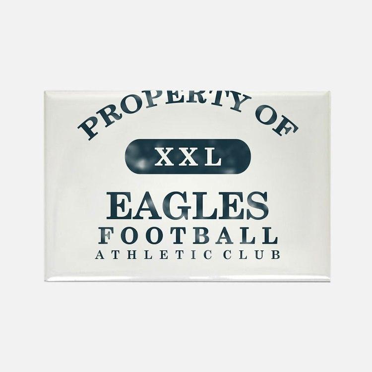 Property of Eagles Rectangle Magnet