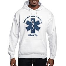 EMS (EMT-B) Hoodie Sweatshirt (Front & Back)