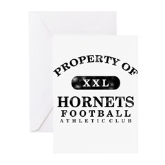 Property of Hornets Greeting Cards (Pk of 20)