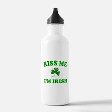 Kiss Me Shamrock Water Bottle