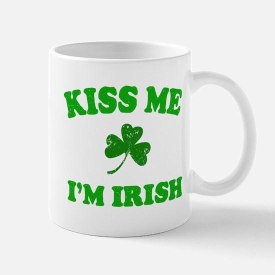 Kiss Me Shamrock Mug