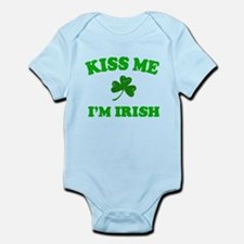 Kiss Me Shamrock Infant Bodysuit
