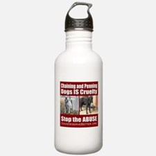 Chaining IS Cruelty Water Bottle