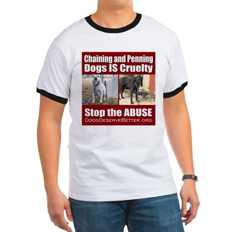 Chaining IS Cruelty Ringer T