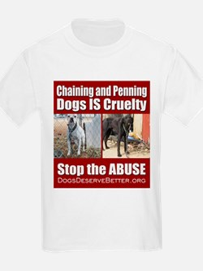 Chaining IS Cruelty T-Shirt