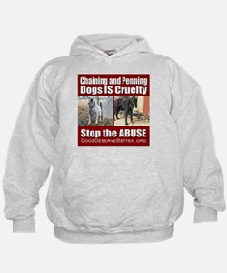Chaining IS Cruelty Hoodie