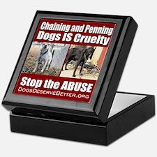 Chaining IS Cruelty Keepsake Box