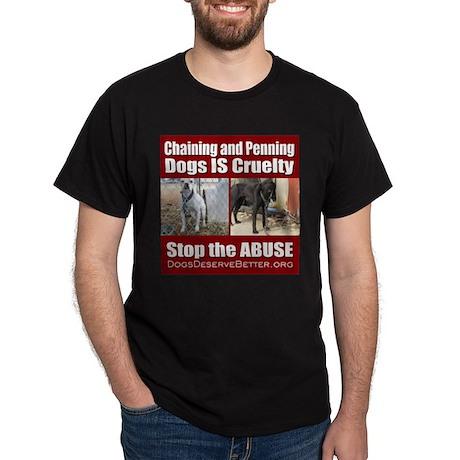 Chaining IS Cruelty Dark T-Shirt