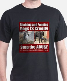 Chaining IS Cruelty T-Shirt