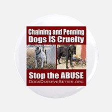 "Chaining IS Cruelty 3.5"" Button"