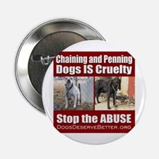 "Chaining IS Cruelty 2.25"" Button"