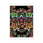 Psychedelic Stars Fractal Mini Poster Print