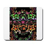 Psychedelic Stars Fractal Mousepad