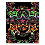 Psychedelic Stars Fractal Small Poster