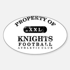 Property of Knights Decal