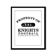 Property of Knights Framed Panel Print
