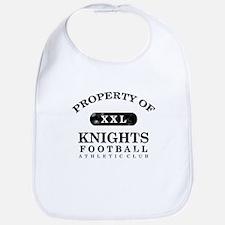 Property of Knights Bib