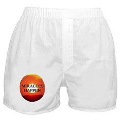 MIRACLES HAPPEN IX Boxer Shorts