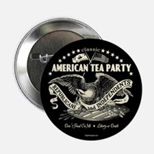 """Classic American Tea Party 2.25"""" Button (10 pack)"""