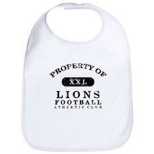 Property of Lions Bib
