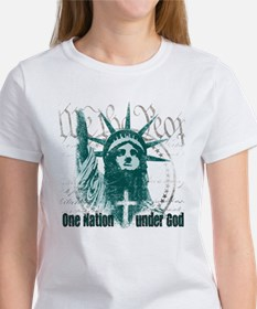 One Nation Under God Women's T-Shirt