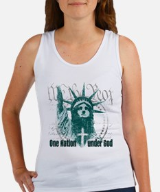 One Nation Under God Women's Tank Top