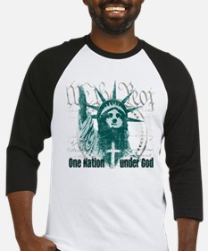 One Nation Under God Baseball Jersey
