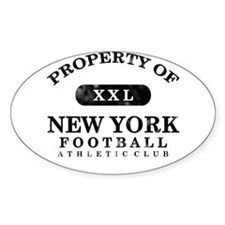 Property of New York Decal