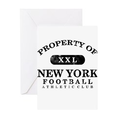 Property of New York Greeting Card