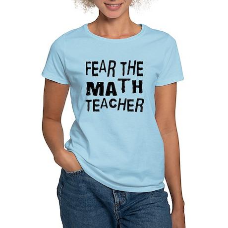 Funny Math Teacher Women's Light T-Shirt