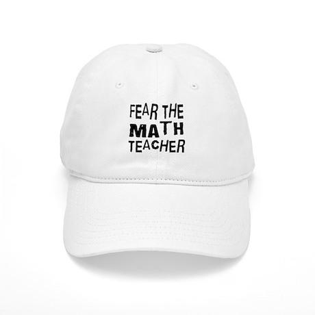 Funny Math Teacher Cap