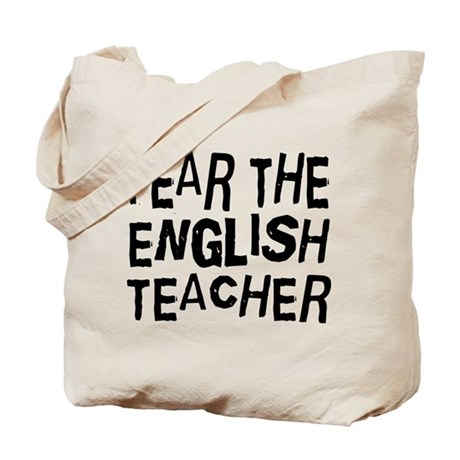 Funny English Teacher Tote Bag by jobtees English Teacher Funny