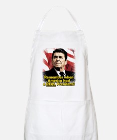 A REAL President BBQ Apron
