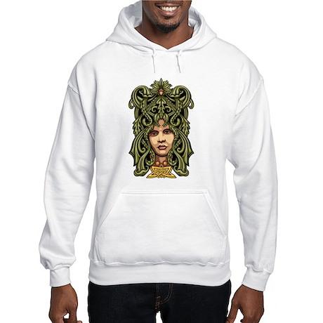 Green Man Hooded Sweatshirt
