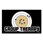 Group Therapy - Guns Sticker (Rectangle)