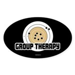 Group Therapy - Guns Sticker (Oval 10 pk)