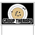 Group Therapy - Guns Yard Sign