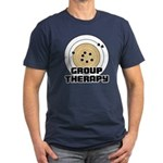 Group Therapy - Guns Men's Fitted T-Shirt (dark)