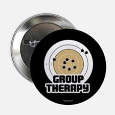 """Group Therapy - Guns 2.25"""" Button (10 pack)"""