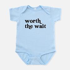 Newborn Baby New Baby Worth T Infant Bodysuit