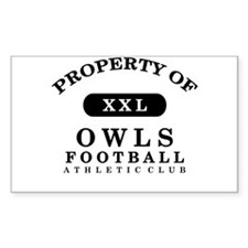 Property of Owls Decal